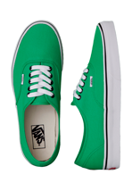 Vans - Authentic Bright Green/Black - Shoes