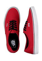 Vans - Authentic Chilli Pepper/Black - Shoes