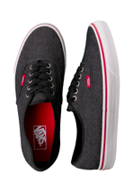 Vans - Authentic Denim Black/True White - Shoes