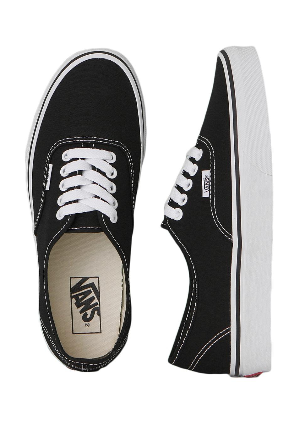 Vans Black For Girls