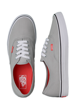 Vans - Authentic Pop Mirage Grey/Hot Coral - Shoes