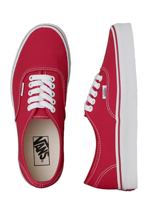 Vans - Authentic Red - Girl Shoes