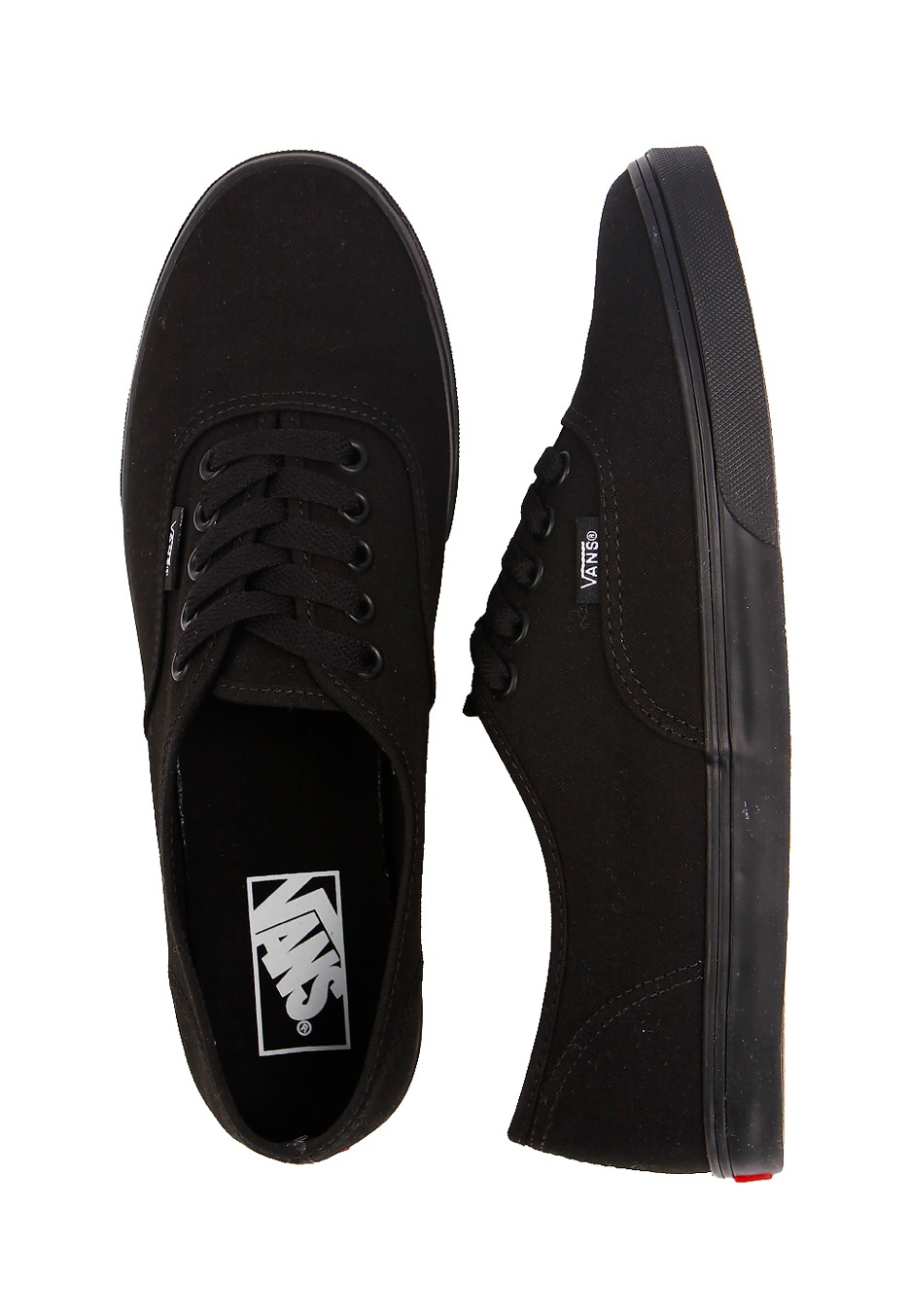 Vans - Authentic Lo Pro Black/Black - Girl Shoes - Impericon.com UK