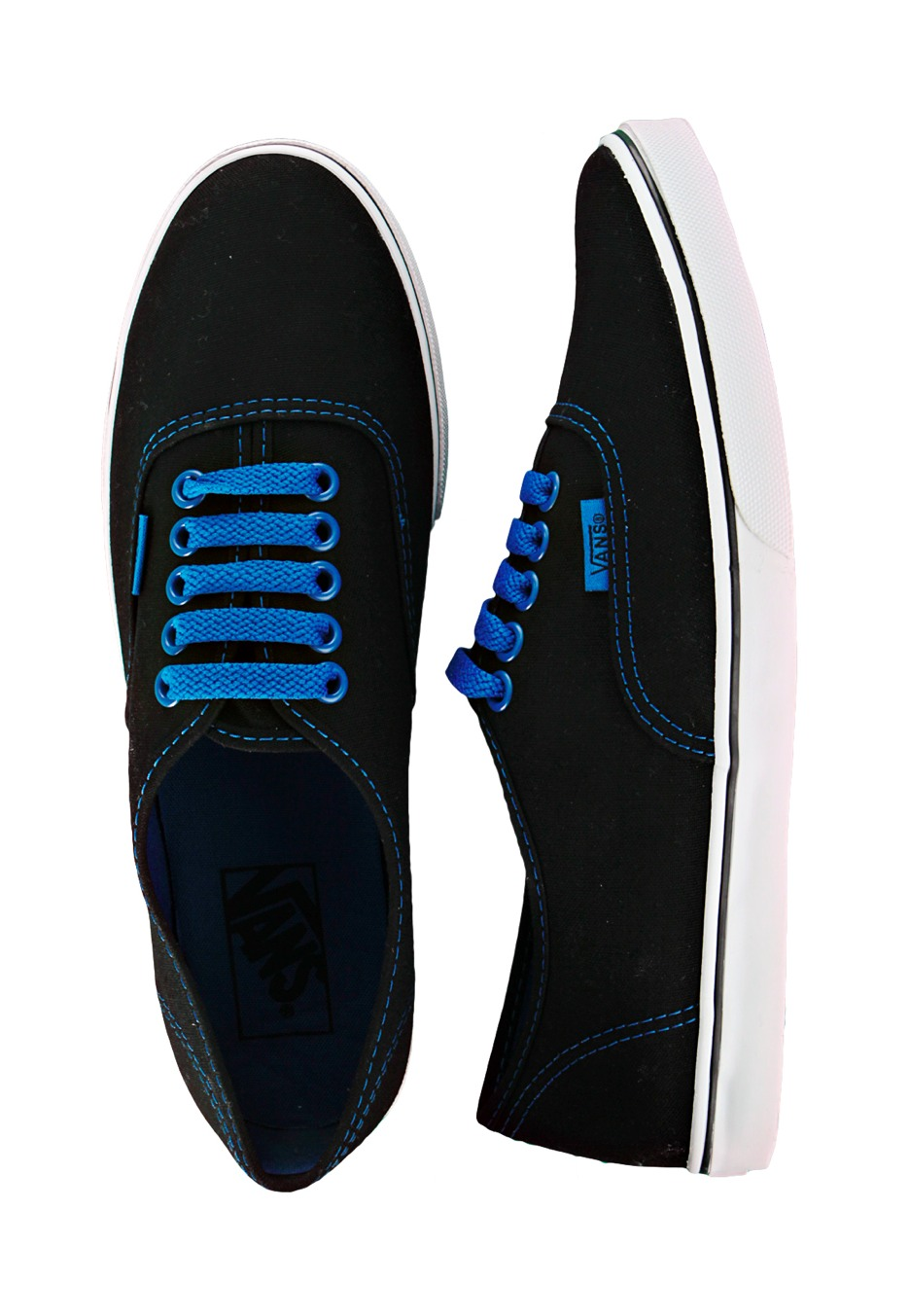 vans shoes for girls black and blue sportscafeennu