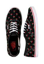Vans - Authentic Lo Pro Cherry/Black - Girl Shoes