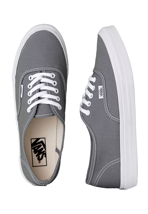 Vans - Authentic Slim Monument/True White - Girl Shoes