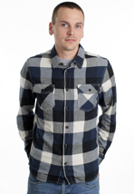 Vans - Box Flannel Dress Blues - Shirt