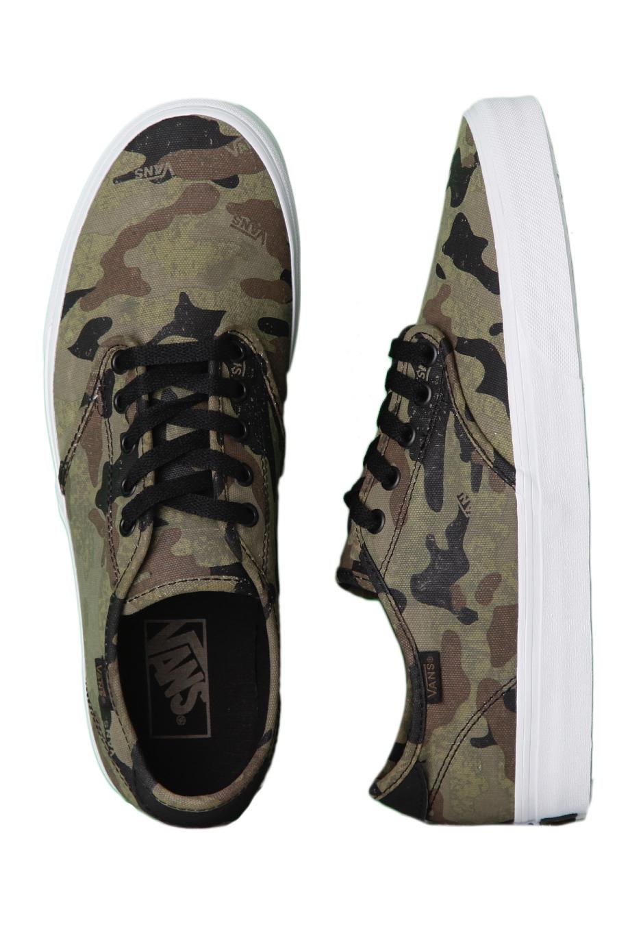 Vans - Camden Camo Army/Black - Shoes - Impericon.com ...
