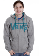 Vans - Classic Concrete Heather/Deep Lake - Zipper
