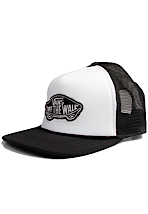 Vans - Classic Patch White/Black - Trucker Cap