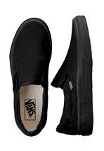 Vans - Classic Slip-On Black/Black - Shoes