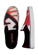 Vans - Classic Slip-On Metallica Kill ´Em All Black/True White - Shoes