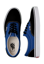 Vans - Era 2 Tone Black/Snorkel Blue - Shoes