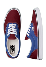 Vans - Era 2 Tone Tawny Port/True Blue - Shoes