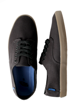 Vans - E-Street Black/Gum - Shoes