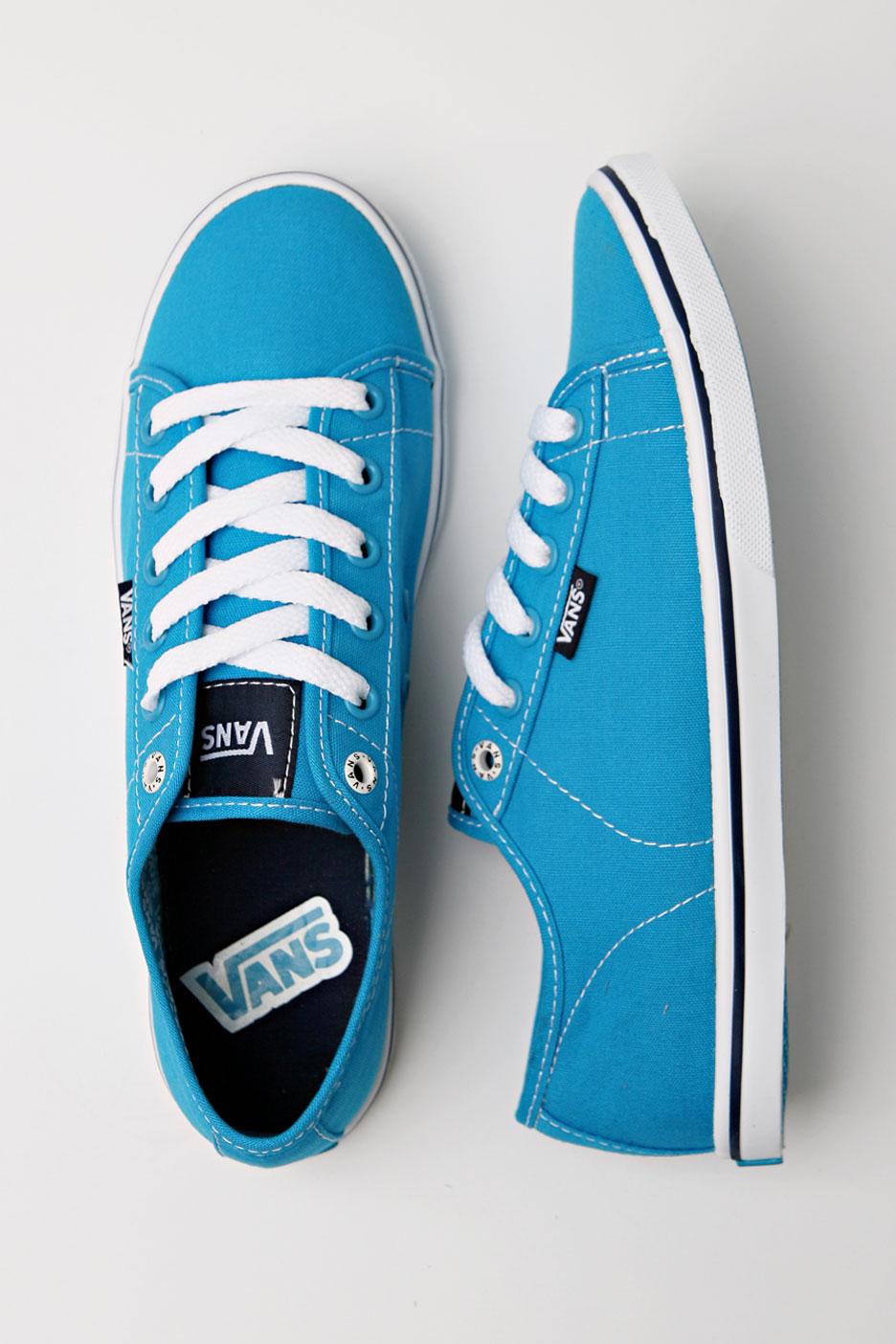 Vans For Girls Blue