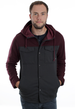 Vans - Kinnear Cabernet/New Charcoal - Jacket