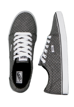 Vans - Kress Washed Dots Black/White - Girl Shoes