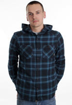 Vans - Loose Screw IV Dress Blues - Hooded Shirt