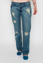 Vans - Novio Fit Destroyed - Girl Jeans