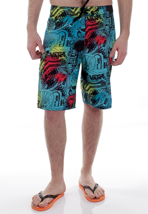 Vans - Off The Wall 22 Bluebird Sticker - Board Shorts