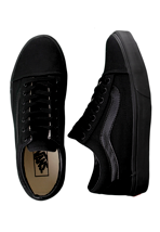 Vans - Old Skool Black/Black - Girl Shoes