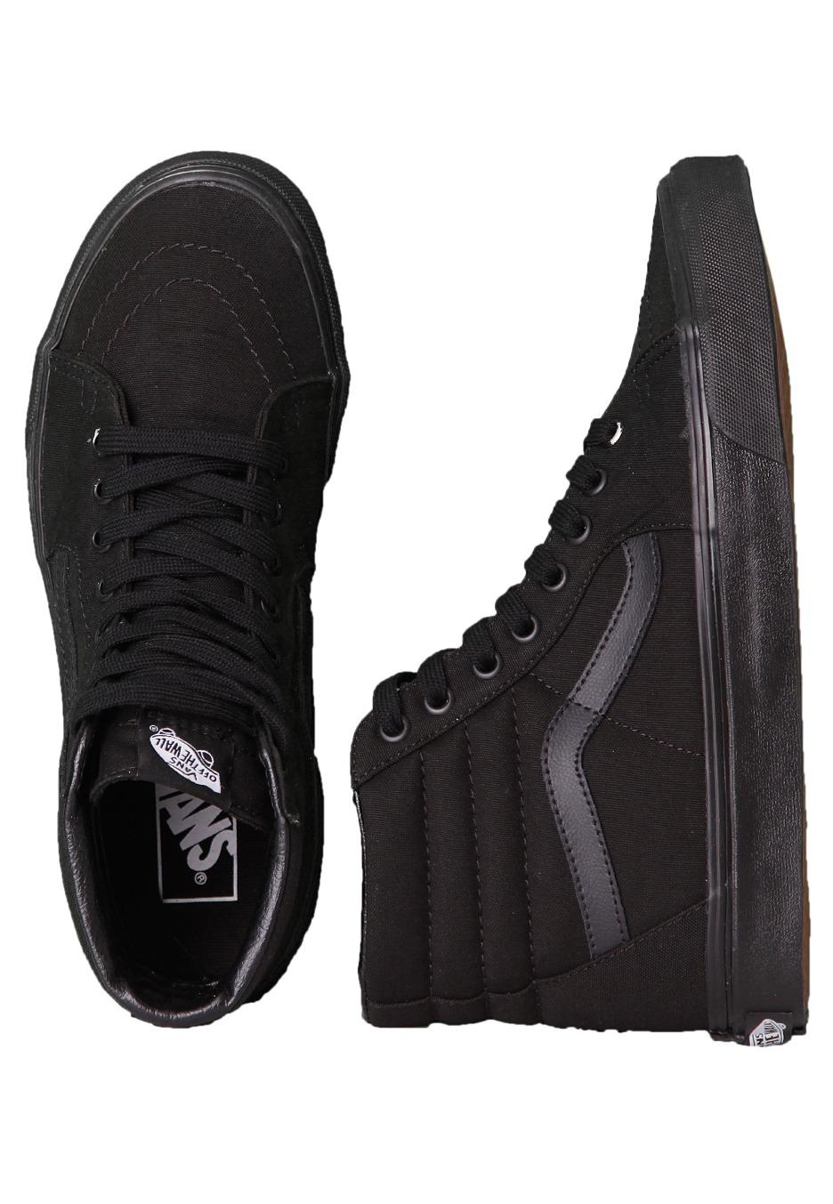 Vans Hi Sk8 All Black