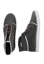 Vans - Tosha Hi Grey/White - Girl Shoes