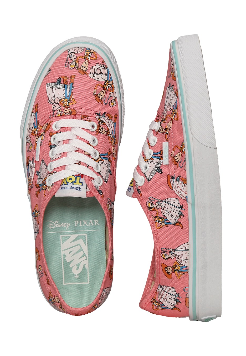 Vans x Toy Story - Authentic Toy Story Woody/Bo Peep - Girl Shoes ...