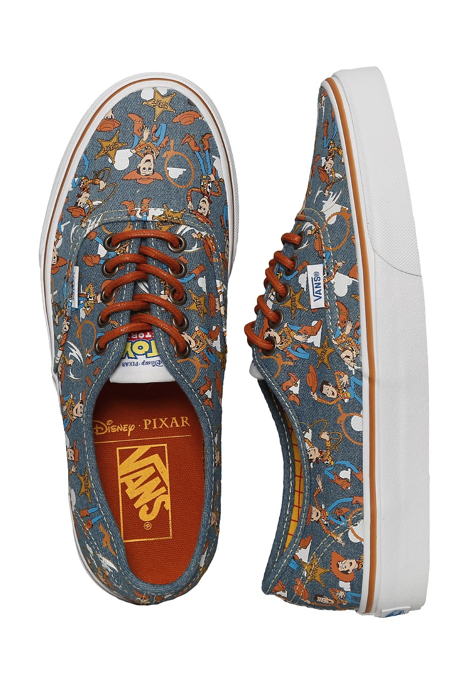 Vans x Toy Story - Authentic Toy Story Woody/True White - Shoes ...