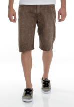 Volcom - Activist Denim 21 Brown - Shorts-W_30