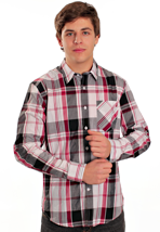Volcom - Ex Factor Plaid Lumber Jack Red - Shirt