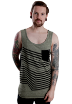 Volcom - Frequency Expedition Green - Tank