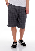 Volcom - Frickin Plaid 22 Charcoal Heather - Shorts