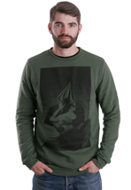 Volcom - Journey Slim Expedition Green - Sweater