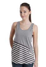 Volcom - Neon Slice White - Girl Tank