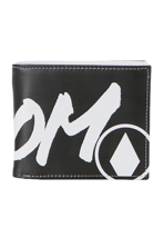 Volcom - One Two Three Large Black/White - Wallet