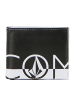 Volcom - One Two Three Large White/Black - Wallet