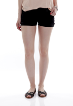 Volcom - Soundcheck Black Top - Girl Shorts