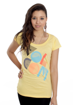 Volcom - Strybal Snap Yellow - Girly