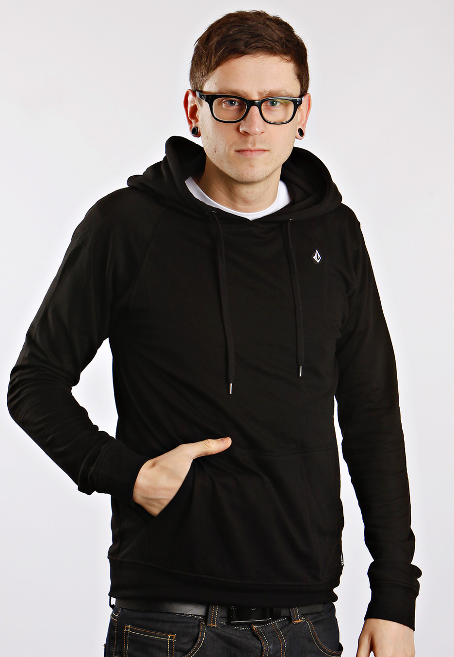 Buy low price, high quality slim black hoodie with worldwide shipping on universities2017.ml