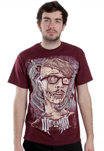 War From A Harlots Mouth - Hipster Burgundy - T-Shirt
