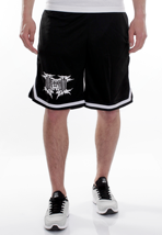 War From A Harlots Mouth - New Logo Striped - Shorts