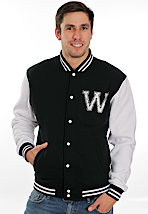 We Butter The Bread With Butter - Küken Black/White - College Jacket