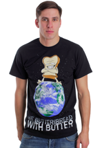 We Butter The Bread With Butter - World Domination - T-Shirt