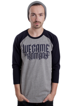 We Came As Romans - Logo Sportsgrey/Navy - Longsleeve