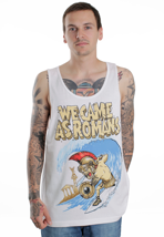 We Came As Romans - Surfing Roman White - Tank