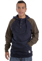 Wemoto - Delta Dress Blue Melange - Hoodie