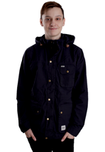 Wemoto - Gus Navy Blue - Hooded Jacket