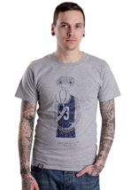 Wemoto - Protect Heather Grey - T-Shirt